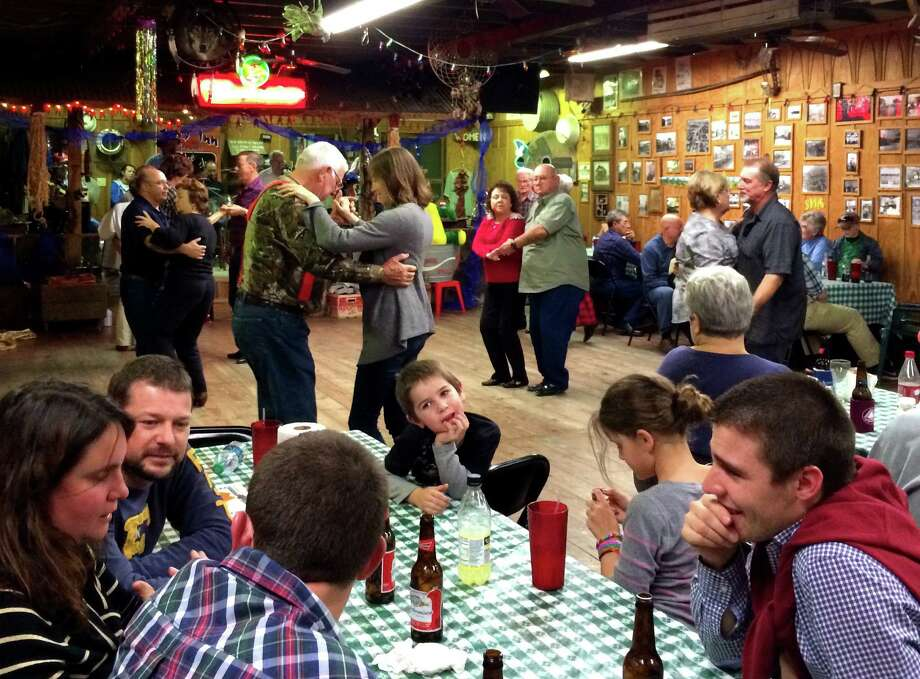 Dancers and diners have some fun at the Jolly Inn's Cajun dance hall in Houma, La. Photo: Jason Feifer / Washington Post / THE WASHINGTON POST