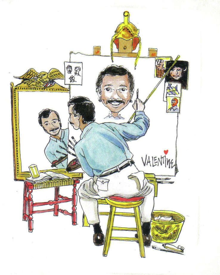 Caricature artist and cartoonist Mike Valentine will speak at the next Fairfield County Arts Association meeting on March 12. Photo: Contributed Photo / Fairfield Citizen