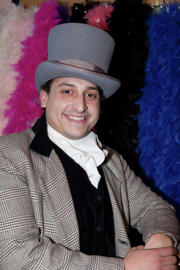 """Tony Morello of Greenwich, Conn., stars in the title role of St. Catherine's Players of Greenwich, Conn.'s  production of the musical """"Barnum,"""" which begins performances on Friday, Feb. 28, 2014. For more information, visit www.stcatherinesplayers.com or call 203-637-3661, Ext. 327. Contributed photo/Kathleen DiGiovanna Photo: Contributed Photo / Stamford Advocate Contributed"""