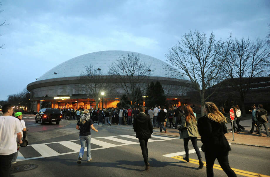 Gampel Pavilion on the Storrs campus  Photo: Brian A. Pounds, Connecticut Post / Connecticut Post