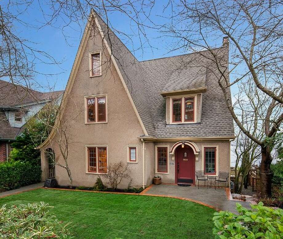 Front of 3810 49th Ave. N.E. It's listed for $2.15 million, although a sale is pending. Photo: Courtesy Brad Knowles And Tom Maider,  Windermere Real Estate