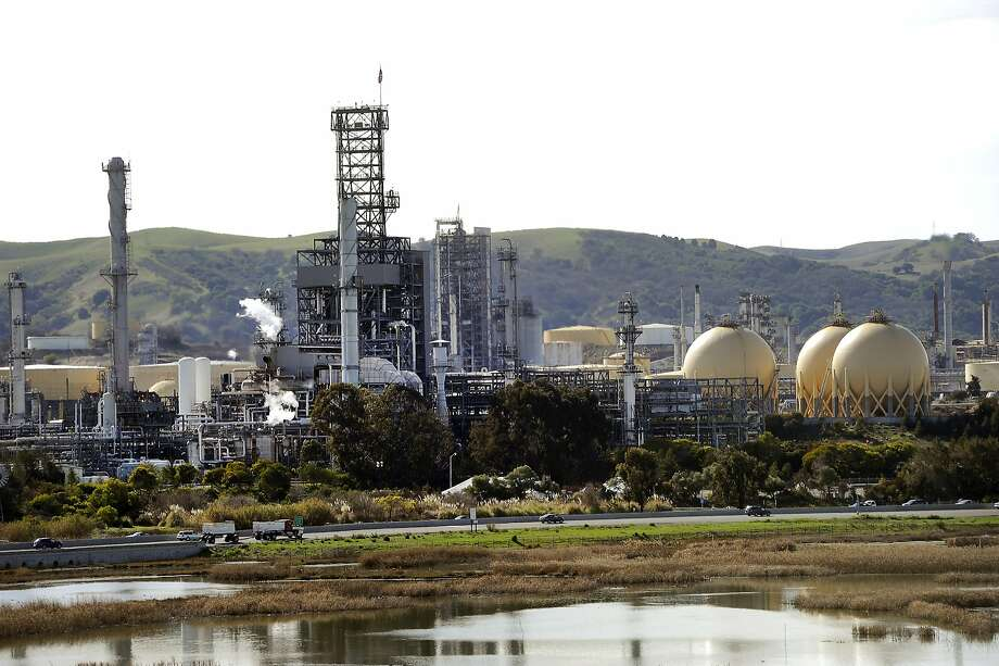 The Shell refinery in Martinez, Calif., shot in February 20, 2014. Photo: Michael Short, Special To The Chronicle