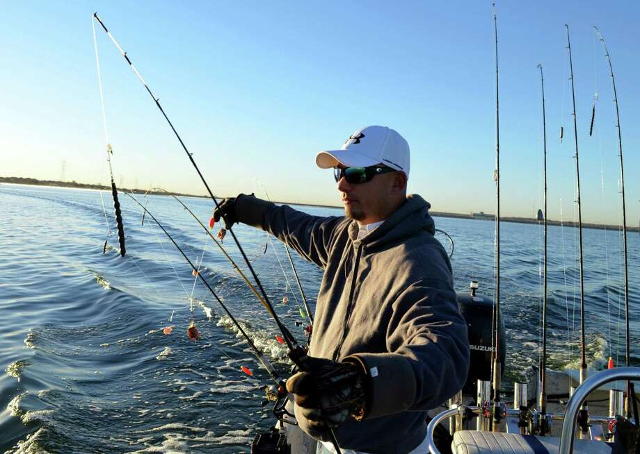 Calaveras redfish tactic of old revived for blue catfish for Calaveras lake fishing guides