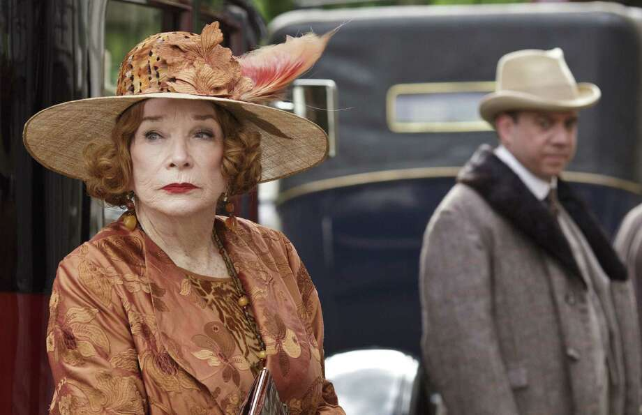 "Shirley MacLaine returns as Countess Cora's outspoken American mom,  and Paul Giamatti joins her in the role of her wayward son in the season finale of ""Downton Abbey."" Photo: PBS / Carnival Films"