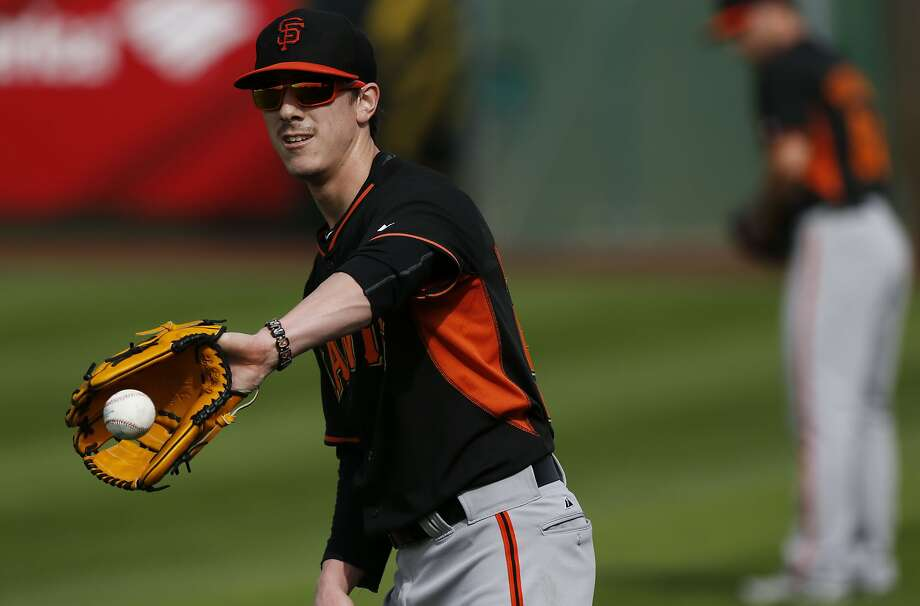 Giants pitcher Tim Lincecum works out at spring training in Scottsdale, Ariz., this week. His legal tiff with his ex-landlord ended in his favor, his lawyers say. Photo: Michael Macor, The Chronicle