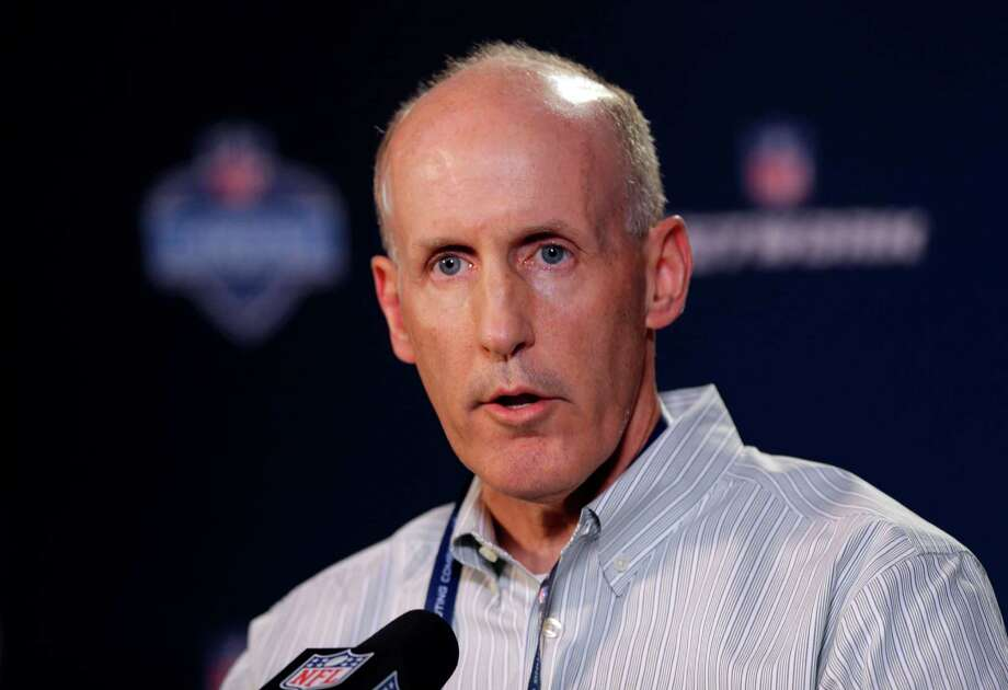Miami Dolphins head coach Joe Philbin answers a question during a news conference at the NFL football scouting combine in Indianapolis, Thursday, Feb. 20, 2014. (AP Photo/Michael Conroy) ORG XMIT: INMC102 Photo: Michael Conroy / AP