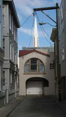 No matter how you come across it, 1972's Transamerica Pyramid is recognizable as a symbol of San Francisco.