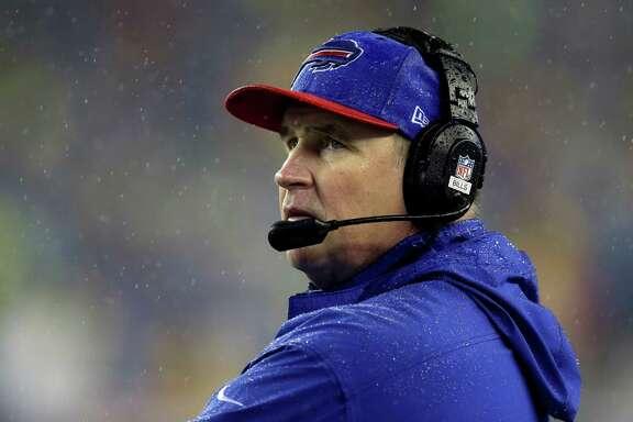 Bills coach Doug Marrone, above, got a year NFL head start on Bill O'Brien.