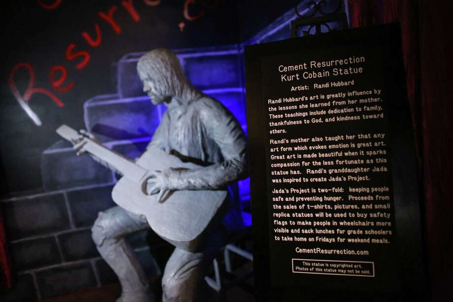 A new statue of Kurt Cobain is shown. Photo: JOSHUA TRUJILLO, SEATTLEPI.COM / SEATTLEPI.COM