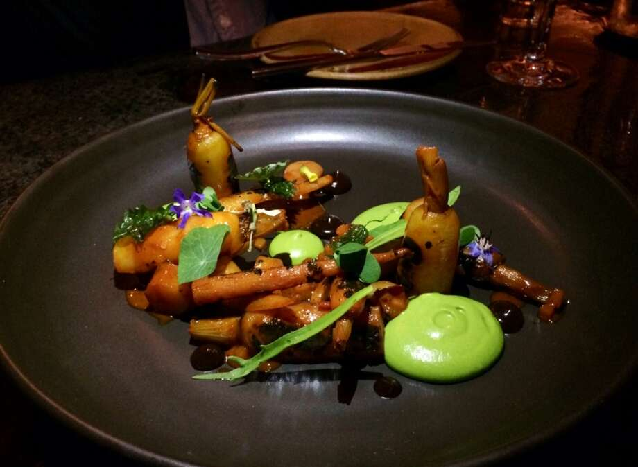 Carrots with nettles and smoked cashews at Verbena ($12)