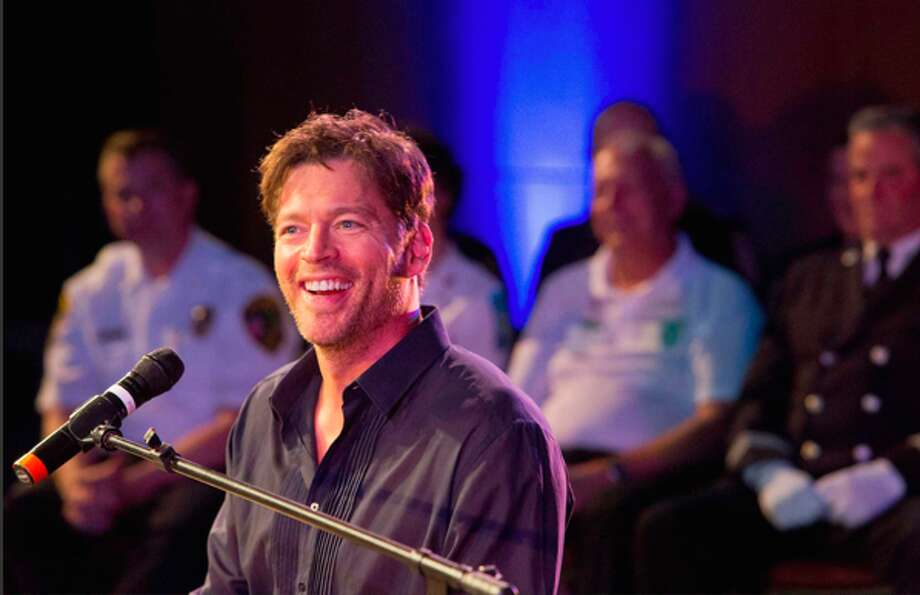 New Canaan's Harry Connick Jr. performs at a concert honoring first responders at New Canaan High School Sunday, Sept. 29, 2013. Connick, a New Canaan resident, performed as part of a fundraiser for Staying Put in New Canaan.