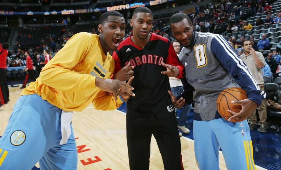 Up until the trade, Hamilton (right) has spent the entirety of his NBA career with the Denver Nuggets Photo: David Zalubowski, Associated Press