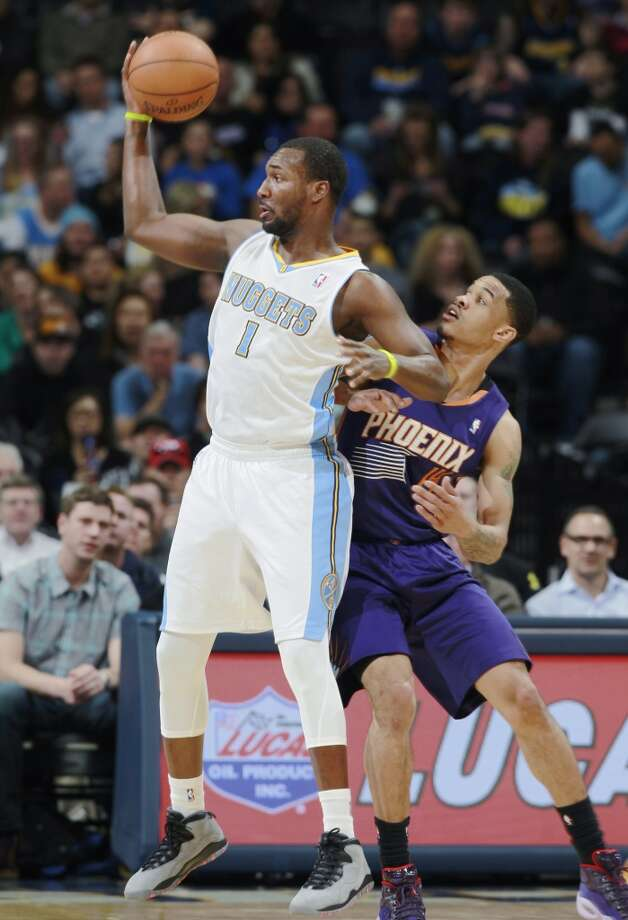Hamilton's best game as a pro came on Nov. 8, 2013 when he started for the Nuggets in a 114-103 loss to the Suns in Phoenix. He scored 19 points on 9-of-12 shooting and grabbed 9 rebounds. Photo: David Zalubowski, Associated Press