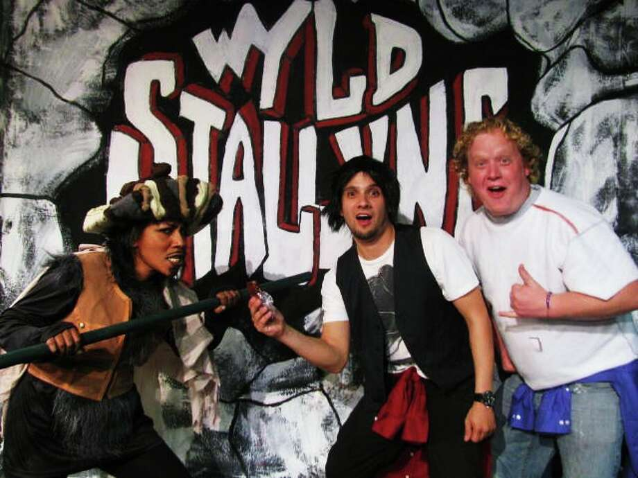 "Inspired silliness: ""Bill and Ted's Excellent Adventure Live."" Through March 1, Rose Theatre Company. therosetheatreco.com; 210-360-0004. Courtesy photo."