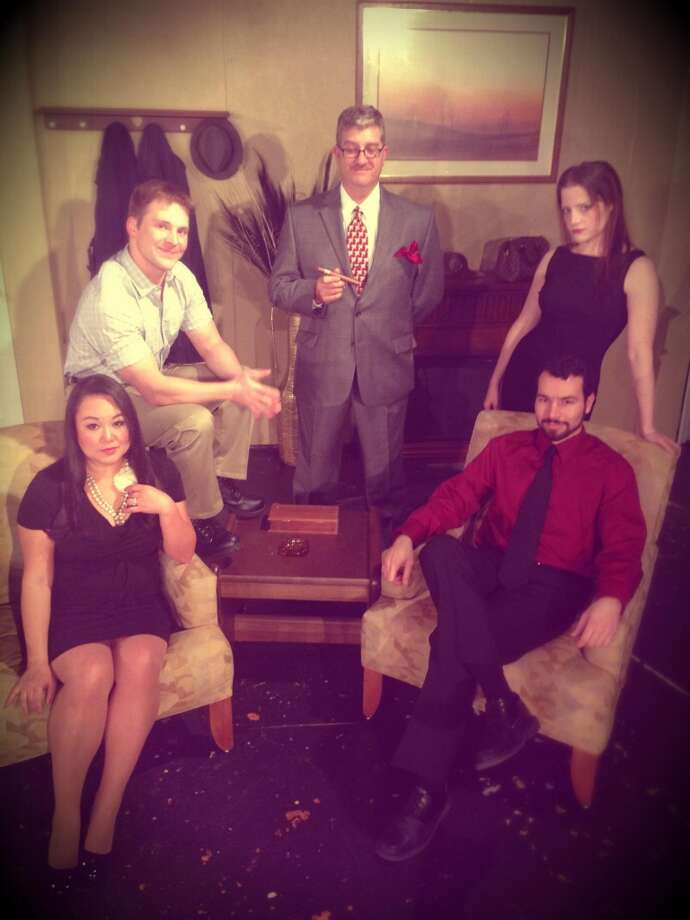 "Extended run:  ""Dial M for Murder."" Through March 8, Harlequin Dinner Theater. 210-222-9694. Courtesy photo."