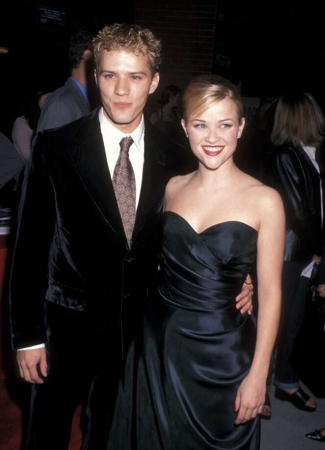 "Ryan Phillippe and Reese Witherspoon met in 1997 at Witherspoon's 21st brthday. After starring together in 1999's ""Cruel Intentions"" they became the golden young Hollywood couple of the new millennium. The pair were married in 1999 (and had two children together) and split in 2006 citing ""irreconcilable differences"" (rumors of Phillippe's cheating had been dogging the pair for years). The blonde with the blond: they just looked so right together, it's shame it didn't work out. Photo: Ron Galella, Ltd."