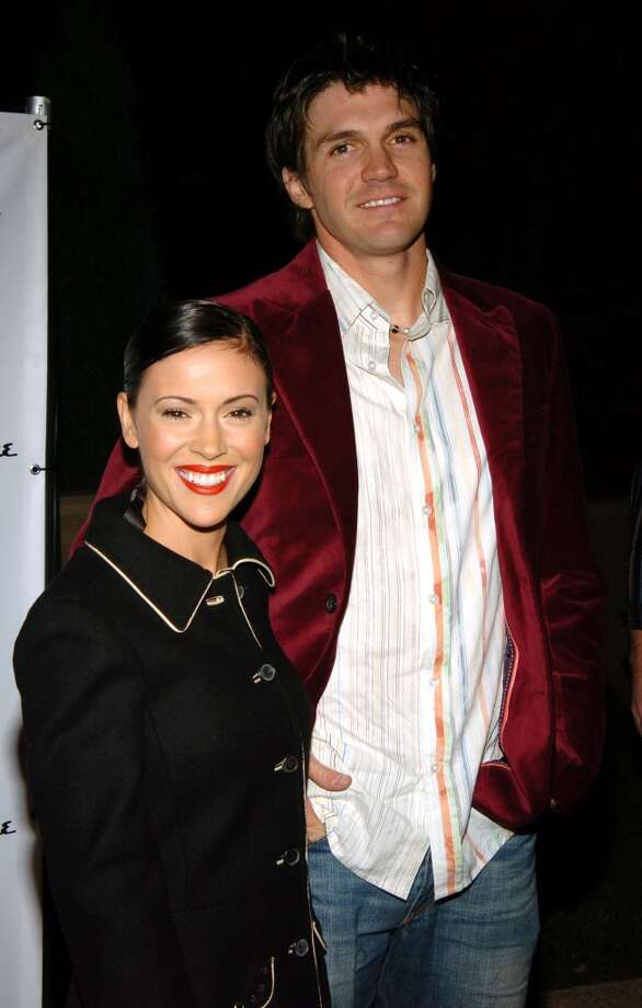 "Alyssa Milano and Barry Zito: The actress doesn't just love baseball, she loves the men who make the game great. No disrespect to Mrs. Zito but we were always pulling for the Giants pitcher and ""Charmed"" star to end up together. Photo: John Sciulli, WireImage"