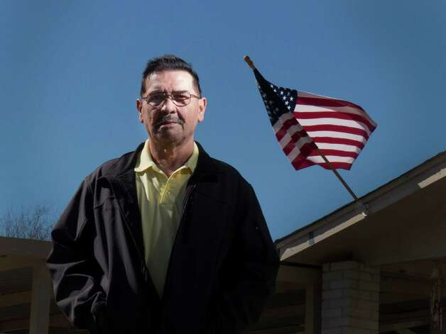 Santiago J. Erevia will receive the Medal of Honor for action in Vietnam in 1969. He recently received a call from President Barack Obama informing him of the citation.  Saturday, Feb. 15, 2014. Photo: Billy Calzada, San Antonio Express-News / San Antonio Express-News