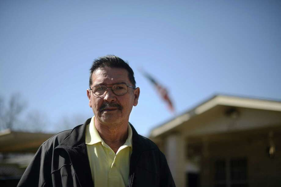 Santiago J. Erevia will receive the Medal of Honor for action in Vietnam in 1969.  Saturday, Feb. 15, 2014. Photo: Billy Calzada, San Antonio Express-News / San Antonio Express-News