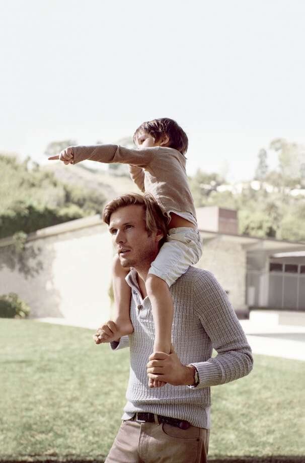 The new campaign illustrates life's most precious and authentic moments shared between loved ones. To truly reflect these emotions, real-life couples and families were cast in the campaign, including Argentinian model and Tulum hotelier Nicolas Malleville and his family. Photo: Mikael Jansson, Courtesy Of Banana Republic