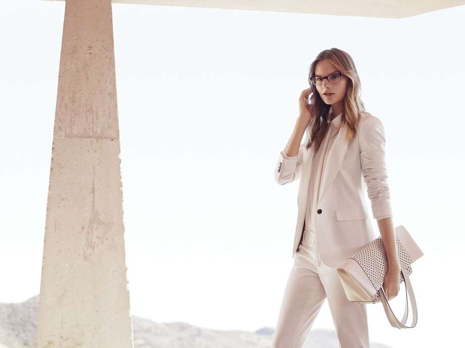 A modern look from the Spring 2014 campaign. Photo: Mikael Jansson, Courtesy Of Banana Republic