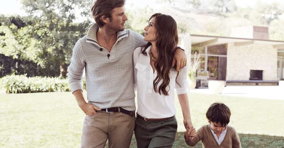 Argentinian model and Tulum hotelier Nicolas Malleville and his family were among several real-life couples used in the campaign. Photo: Mikael Jansson, Courtesy Of Banana Republic