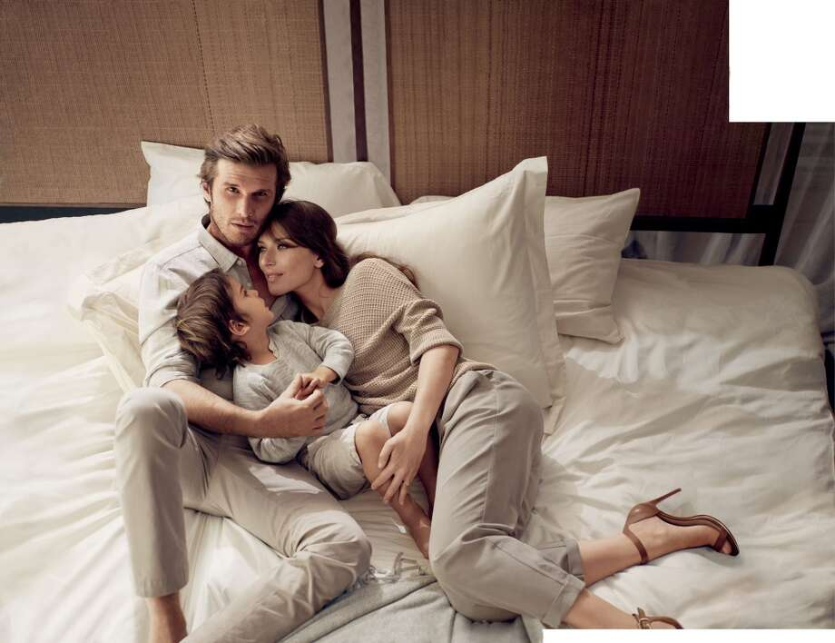 The new campaign illustrates life's most precious and authentic moments shared between loved ones. To truly encapsulate that feeling, real-life couples were used in the Spring 2014 campaign. Photo: Mikael Jansson, Courtesy Of Banana Republic