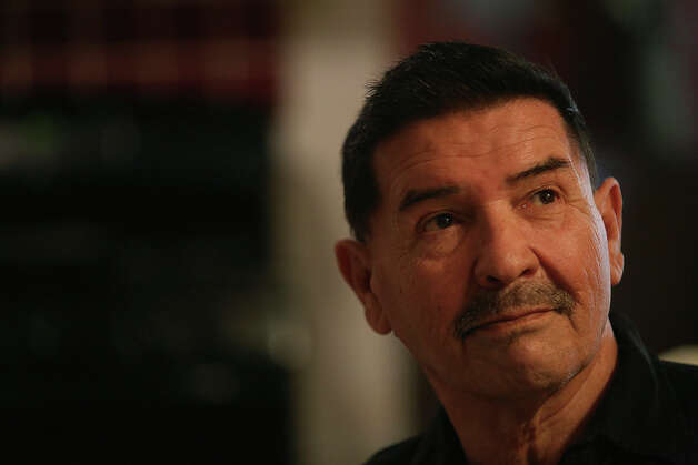 Medal of Honor recipient Santiago Erevia, a retired Army Sgt., at his home in San Antonio on Tuesday, Feb. 18, 2014. Photo: Lisa Krantz, San Antonio Express-News / San Antonio Express-News