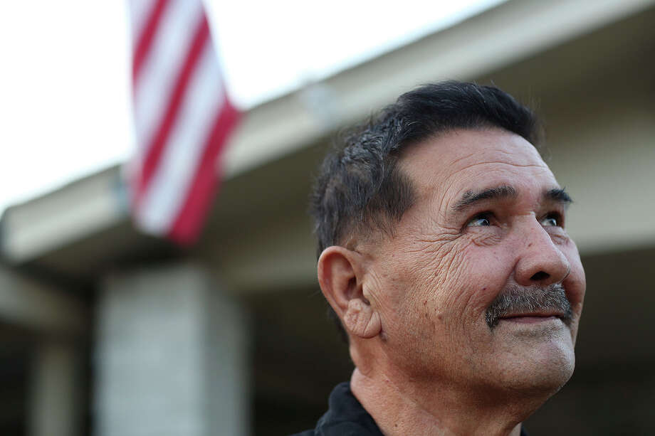 Medal of Honor recipient Santiago Erevia, a retired Army Sgt., at his home in San Antonio on Tuesday, Feb. 18, 2014. Photo: Lisa Krantz / San Antonio Express-News