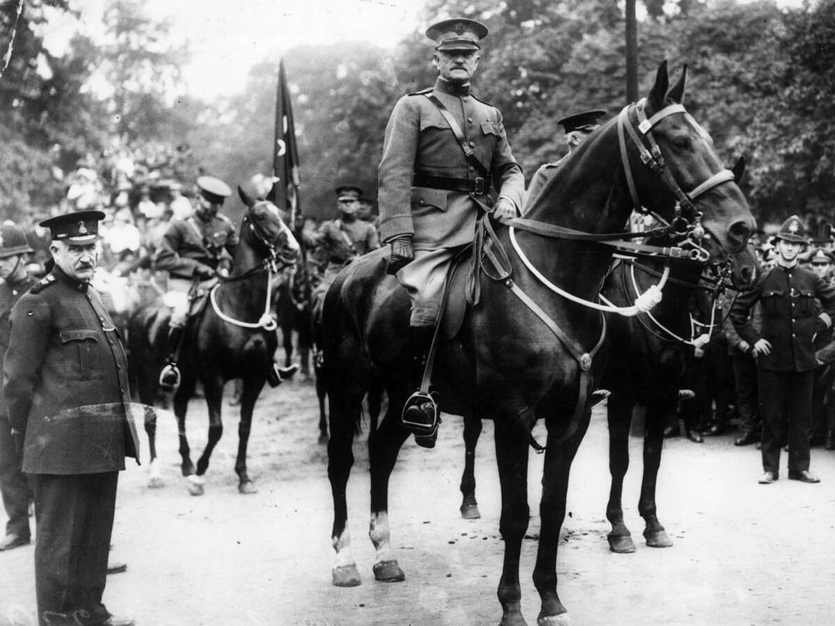 On Feb. 21, 1917, Maj. Gen. John J. Pershing became commander of the American Expeditionary Force (AEF) with headquarters at Fort Sam Houston, and went on to become the greatest hero of World War I. Here are 17 things you should know about the famous general with San Antonio ties.PHOTO: Gen. John J.