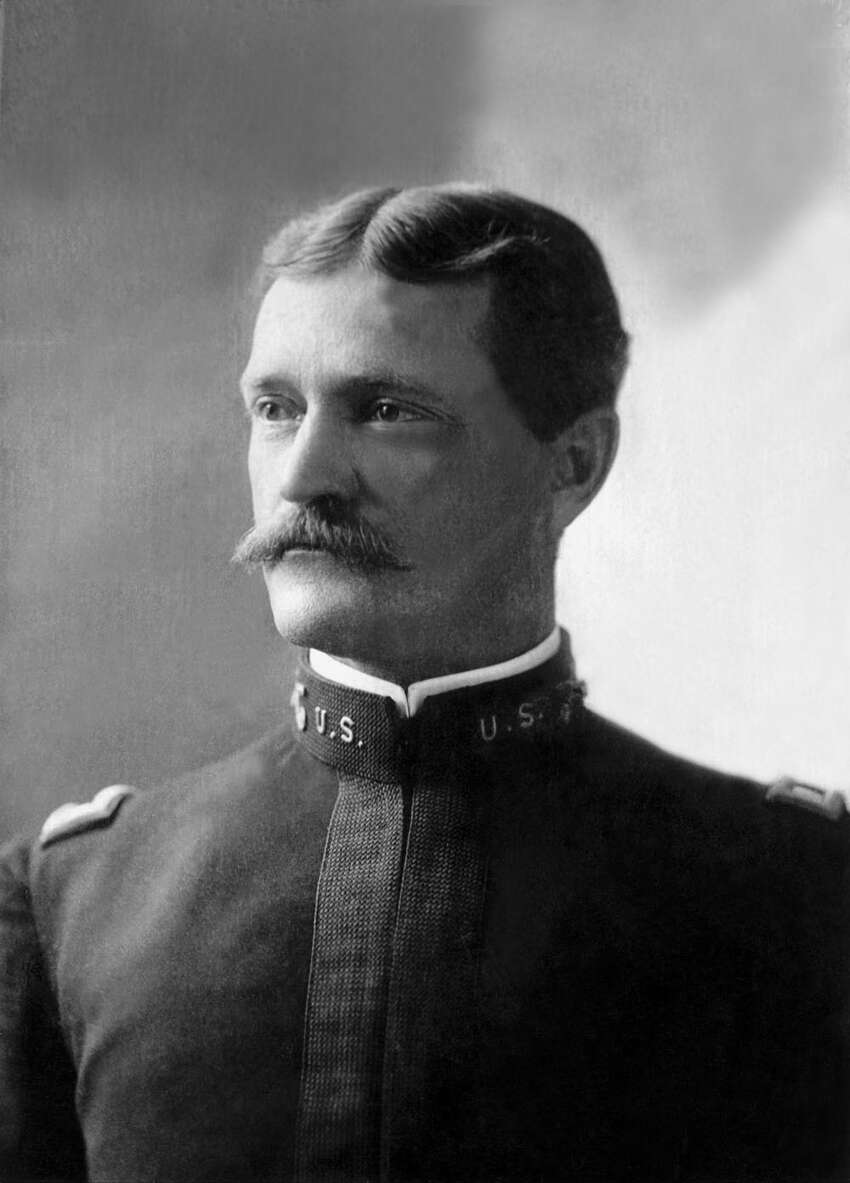 1. Pershing was born in Missouri in 1860 and entered West Point in 1882.PHOTO: Gen. John J. Pershing, circa 1900-1906.