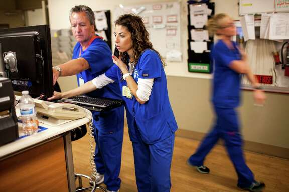 Nurses in the emergency room at Sutter Health, California Pacific Medical Center's parent company, in San Francisco, Nov. 12, 2013. In a medical system notorious for opaque finances and inflated bills, nothing is more convoluted than hospital pricing, economists say.