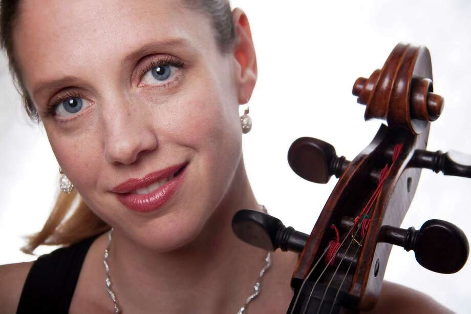 Avon musician Melissa Morgan performs the Dvorak Cello Concerto Saturday, March 1, at 8 p.m. iwith the American Chamber Orchestra in Fairfield. Photo: Contributed Photo / Connecticut Post Contributed