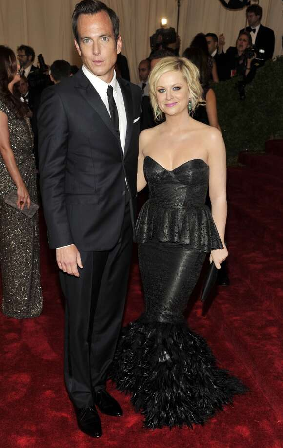 This one hurt. Amy Poehler and Will Arnett weren't just a cute couple: they were the funny, irrevent yet still totally attractive couple we always secretly wanted to be. The comedic pair met in 2000 and married in 2003. Two ginger-headed sons later, the two separated in 2012. The former pair have remained friends while co-parenting. Photo: Charles Sykes, Associated Press