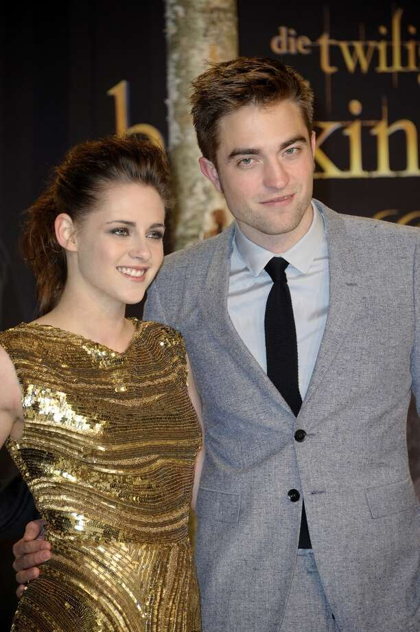 Kristen Stewart and Robert PattinsonKristen Stewart and Robert Pattinson were a Hollywood favorite (among tweens, anyways). That is, until K-Stew cheated on R-Patt with the married British director Rupert Sanders (R-Sand?).  Photo: Luca Teuchmann, WireImage