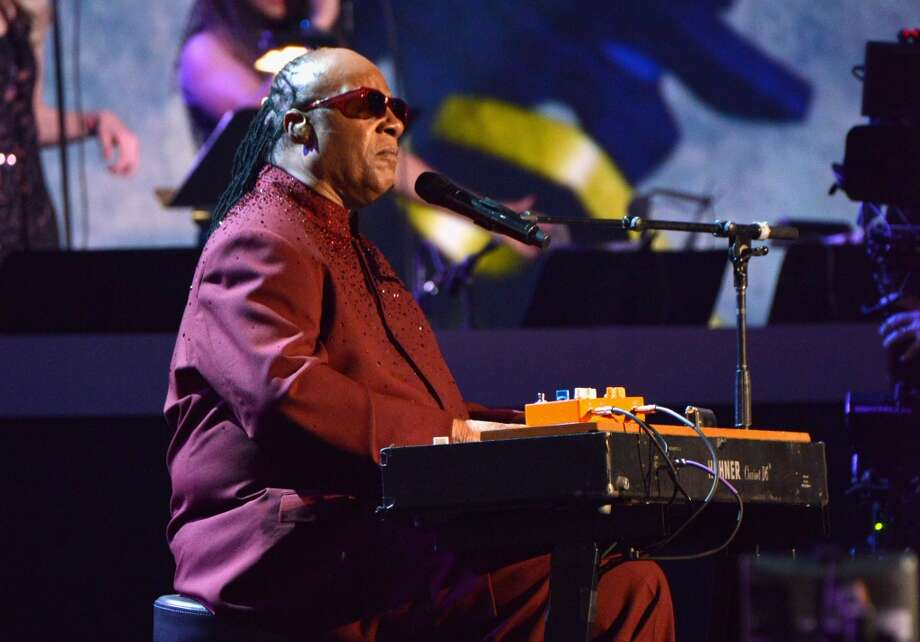"LOS ANGELES, CA - JANUARY 27:  Recording artist Stevie Wonder performs onstage during ""The Night That Changed America: A GRAMMY Salute To The Beatles"" at the Los Angeles Convention Center on January 27, 2014 in Los Angeles, California.  (Photo by Larry Busacca/Getty Images for NARAS) Photo: Getty Images For NARAS"