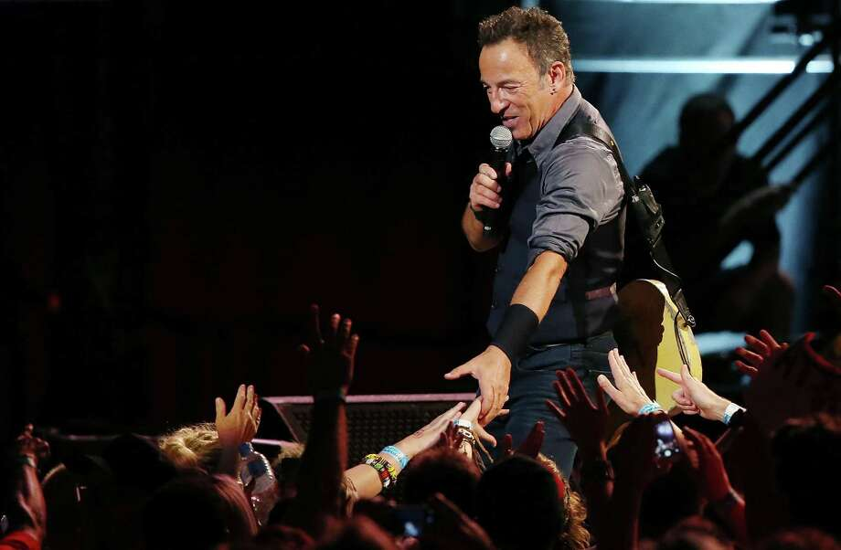 Bruce Springsteen will perform at the Cynthis Woods Mitchell Pavilion on May 6. Photo: Mark Metcalfe, Stringer / 2014 Getty Images
