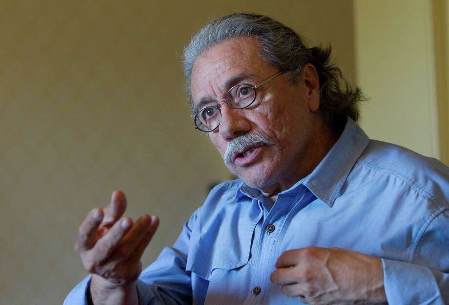 Edward James Olmos promotes the movie Filly Brown on Friday, April 12, 2013, in Houston. ( Mayra Beltran / Houston Chronicle ) Photo: Mayra Beltran, Staff / © 2013 Houston Chronicle