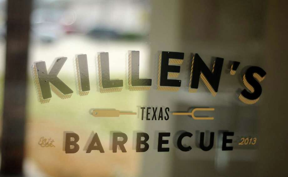 The front door sign at Killen's Barbecue in Pearland. Photo: Dave Rossman, Freelance / Freelance