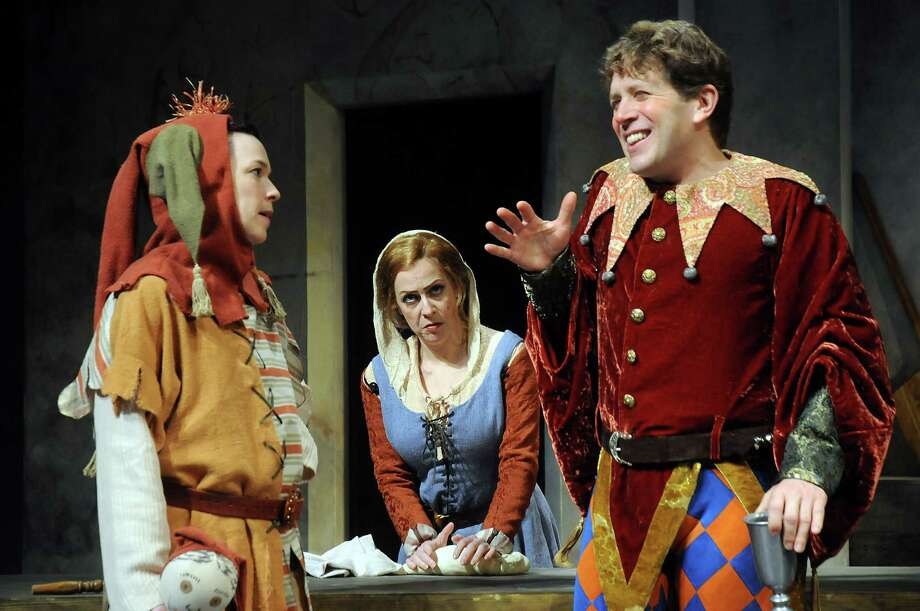 Fool: World premiere of Theresa Rebeck's comedy, about two medieval kings who make a wager involving their fools. 7:30 p.m. Tuesdays-Wednesdays, 8 p.m. Thursdays-Fridays, 2:30 and 8 p.m. Saturdays, 2:30 and 7:30 p.m. Sundays, through March 16; Alley Theatre, 615 Texas; Tickets: $26-$90; 713-220-5700; alleytheatre.org. Photo: Dave Rossman, Freelance / Freelance