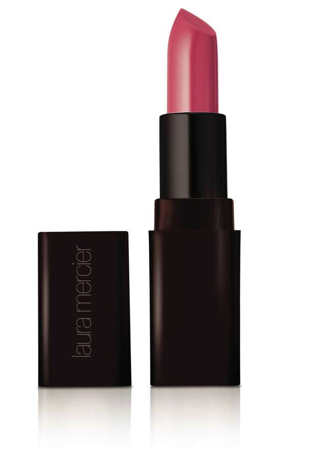 Laura Mercier Cr me Smooth Lip Colour: An early punch of pink, this one-swipe lipstick offers rich color and lustrous shine. We like the color  Pink Dusk  that provides the perfect segue between day and night; $27 at Nordstrom and Macy s. Photo: Laura Mercier