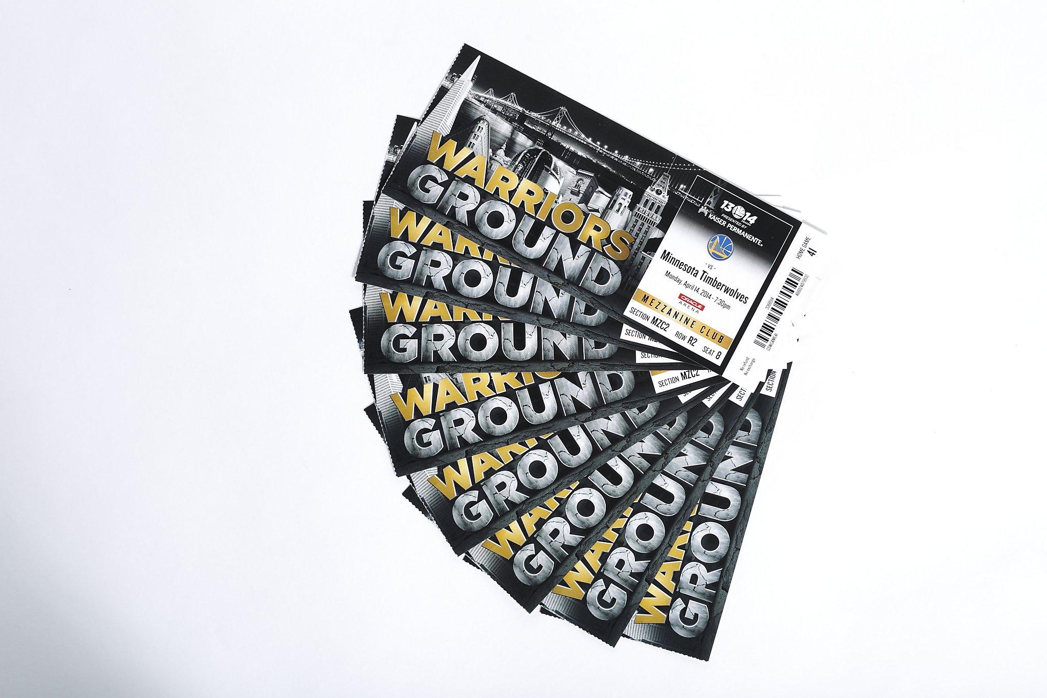 Warriors ticket resale rules prompt lawsuit - SFGate