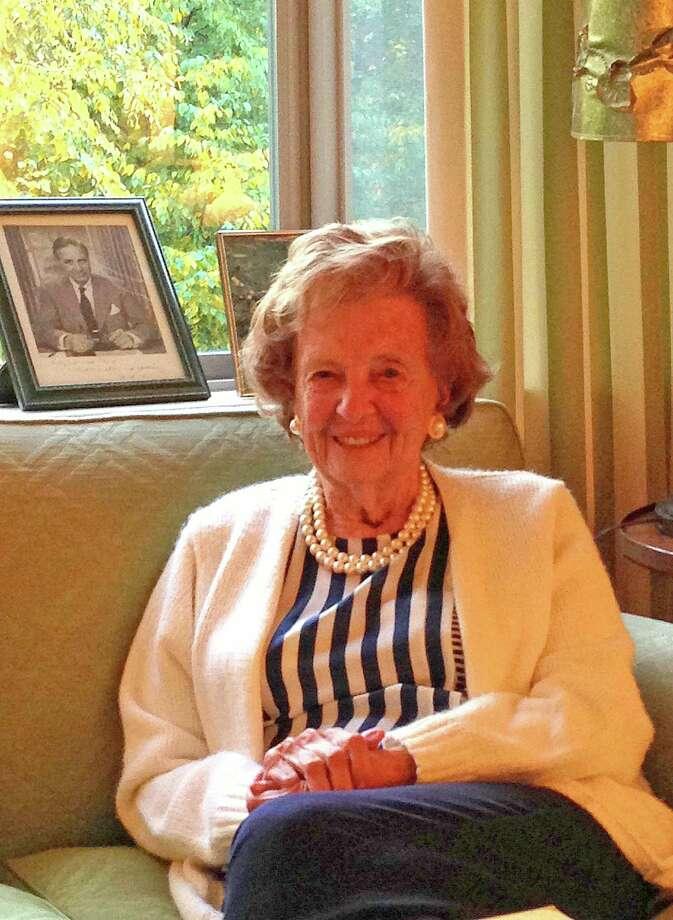Elizabeth Kauffman Bush, widow of Prescott Bush, died Thursday at the age of 91. Photo: Contributed Photo / Greenwich Citizen