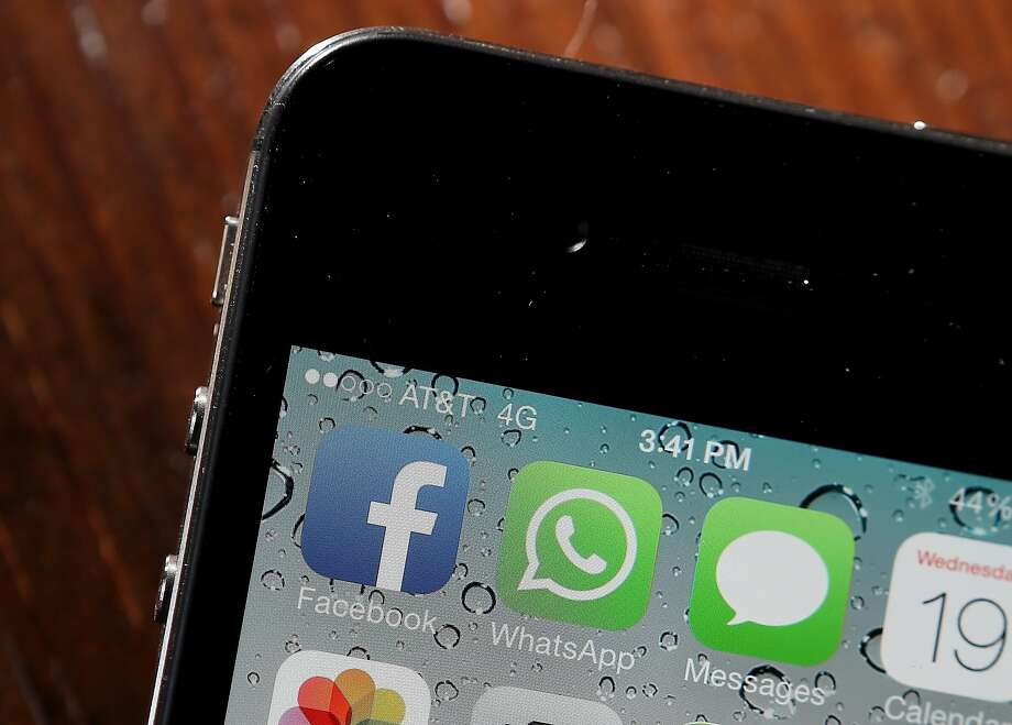 Facebook bought mobile-messaging app WhatsApp for $19 billion. Photo: Justin Sullivan, Getty Images