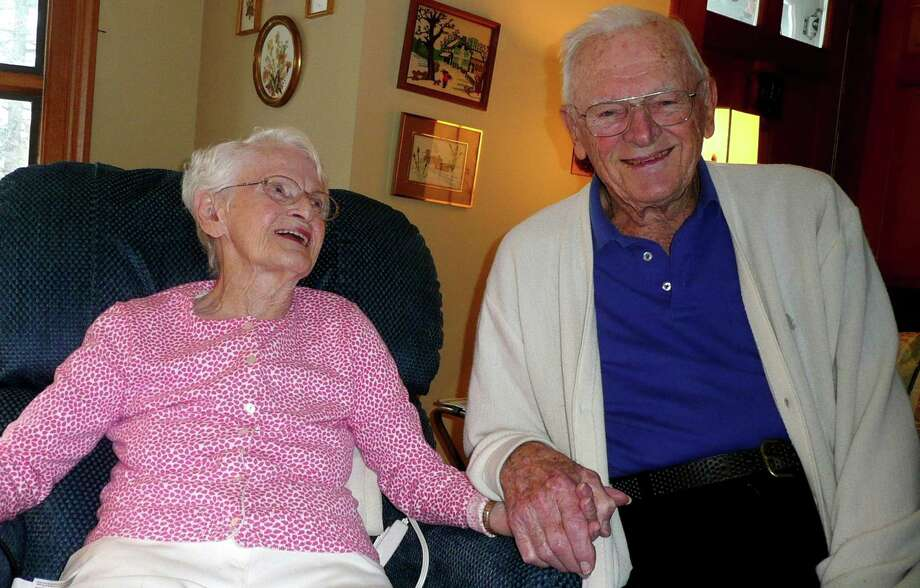 Greenwich residents Catherine and Jim McKay have been married, happily, for 72 years. Photo: Anne W. Semmes / Greenwich Citizen