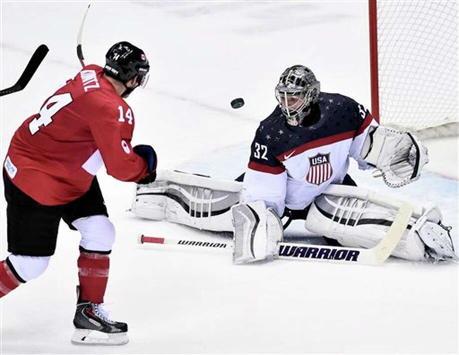 Milford native Jonathan Quick was the starting goalie for the United States.