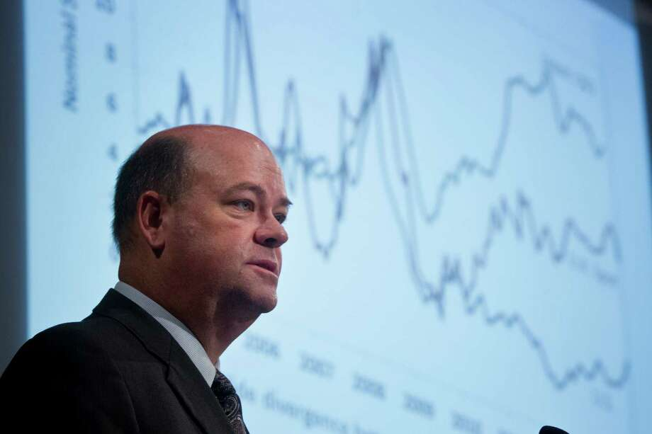 "ConocoPhillips CEO Ryan Lance says the shale revolution is only in the ""first inning of a nine-inning game."" Photo: Marie D. De Jeséºs, Staff / © 2014 Houston Chronicle"