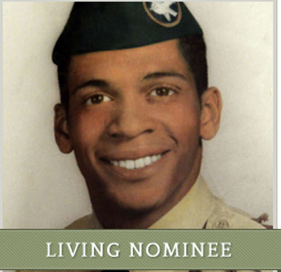 """Medal of Honor nominee Melvin Morris was born in Okmulgee, Okla., Jan. 7, 1942. Morris entered the Oklahoma Army National Guard in 1959 and later requested to join the active Army. He became one of the first Soldiers to don the 'green beret' at the command of President John F. Kennedy, Fort Bragg, N.C., in 1961. Morris volunteered twice for deployments to Vietnam. Melvin Morris is being recognized for his valorous actions on Sept. 17, 1969, while commanding the Third Company, Third Battalion of the IV Mobile Strike Force near Chi Lang. Then-Staff Sgt. Morris led an advance across enemy lines to retrieve a fallen comrade and single-handedly destroyed an enemy force that had pinned his battalion from a series of bunkers. Staff Sgt. Morris was shot three times as he ran back toward friendly lines with the American casualties, but did not stop until he reached safety. The Distinguished Service Cross was awarded to then Staff Sgt. Morris in April 1970 for extraordinary heroism during this 1969 battle. After receiving the award, he returned to Vietnam the same month for his second tour. He retired at Fort Hood, Texas in May 1985. Morris currently resides in Cocoa, Fla. In addition to the Medal of Honor, Morris received the Distinguished Service Cross (this award will be upgraded to the Medal of Honor on Mar. 18), Bronze Star Medal with one Bronze Oak Leaf Cluster, Purple Heart with one Bronze Oak Leaf Cluster, Meritorious Service Medal, Air Medal, Army Commendation Medal with """"V"""" Device and one Bronze Oak Leaf Cluster, Army Good Conduct Medal Silver with one Loop, National Defense Service Medal, Armed Forces Expeditionary Medal, Vietnam Service Medal with one Silver Star, Non-commissioned Officer Professional Development Ribbon with Numeral """"3"""", Army Service Ribbon, Overseas Service Ribbon with Numeral """"4"""", Combat Infantryman Badge, Master Parachutist Badge, Expert Marksmanship Badge with Rifle Bar, Special Forces Tab, Republic of Vietnam Gallantry Cross with Bron"""