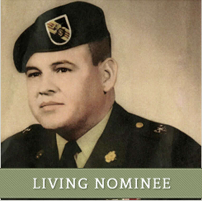Medal of Honor nominee Jose Rodela was born in Corpus Christi, Texas, June 15, 1937. He entered the U.S. Army in September 1955, at the age of 17. Rodela is being recognized for his valorous actions on Sept. 1, 1969, while serving as the company commander in Phuoc Long Province, Vietnam. Rodela commanded his company throughout 18 hours of continuous contact when his battalion was attacked and taking heavy casualties. Throughout the battle, in spite of his wounds, Rodela repeatedly exposed himself to enemy fire to attend to the fallen and eliminate an enemy rocket position. Rodela retired from the Army in 1975. He currently resides in San Antonio, Texas. In addition to the Medal of Honor, Rodela received the Distinguished Service Cross (this award will be upgraded to the Medal of Honor on Mar. 18), Bronze Star Medal, Purple Heart with one Bronze Oak Leaf Cluster, Air Medal with