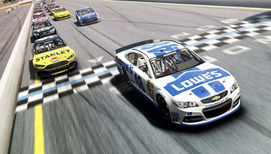"Take control of your NASCAR obsession with ""NASCAR 14."" Photo: Courtesy Deep Silver"